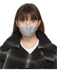 Stella McCartney Logo Face Mask - Grey