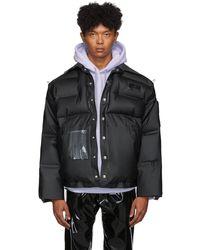 Eytys Black Michiko Koshino Edition Zephyr Jacket