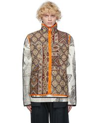 Paria Farzaneh Reversible Multicolour Iranian Ghalamkar Gore-tex® Infinium Vest