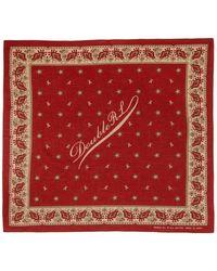 RRL Bandana en coton a logo rouge