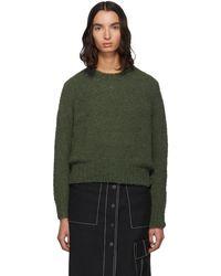 3.1 Phillip Lim V back Sweater in Gray Lyst
