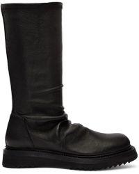 Rick Owens - Black Sock Boots - Lyst