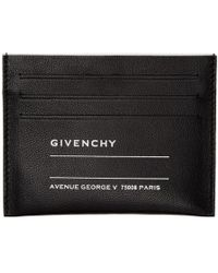 Givenchy - Black Iconic Print Card Holder - Lyst