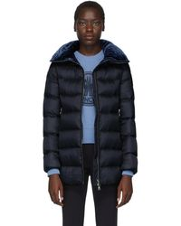 Moncler Navy Down Torcon Jacket - Blue