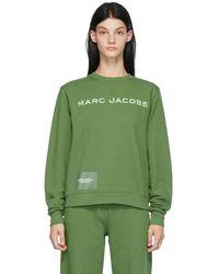 Marc Jacobs グリーン The Sweatshirt スウェットシャツ
