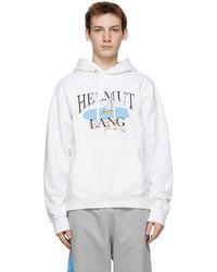 Helmut Lang Saintwoods エディション ホワイト Hl Ocean フーディ