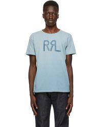 RRL - ブルー スタンダード ロゴ T シャツ - Lyst