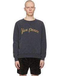 Remi Relief - ブラック Give Peace スウェットシャツ - Lyst