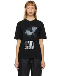 Undercover Cindy Sherman Edition ブラック グラフィック T シャツ
