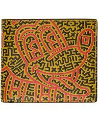 COACH Keith Haring エディション ブラック Mickey ウォレット - マルチカラー