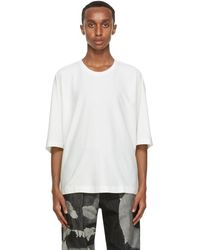 Homme Plissé Issey Miyake - ホワイト Release T シャツ - Lyst