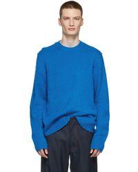Acne Studios - Blue Peele Sweater - Lyst