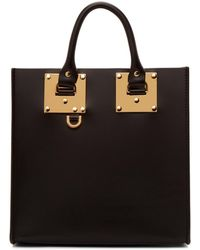 Sophie Hulme - Black Square Albion Tote - Lyst
