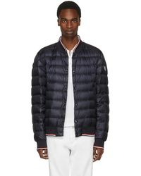 Moncler - Navy Down Aubry Jacket - Lyst