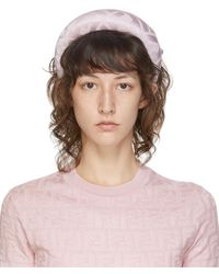 Fendi Pink Silk 'forever ' Headband