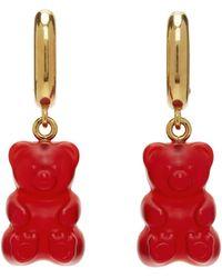 Balenciaga ゴールド & レッド Gummy Bear ピアス - マルチカラー