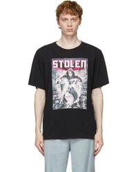 Stolen Girlfriends Club ブラック Blade Runner T シャツ