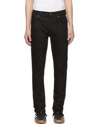 Nudie Jeans - Black Lean Dean Jeans - Lyst