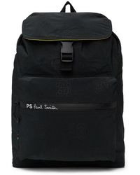 PS by Paul Smith Nylon Backpack - Black
