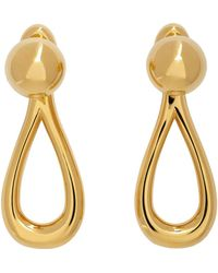 Loewe Boucles d'oreilles pendantes dorées - Métallisé
