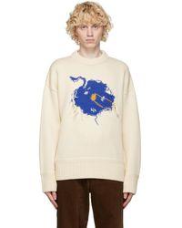 ADER error オフホワイト Bluessom セーター