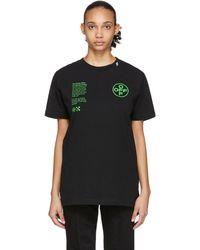 Off-White c/o Virgil Abloh Black Arch Shapes T-shirt