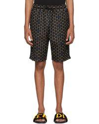 Fendi - Black Bag Bugs Shorts - Lyst