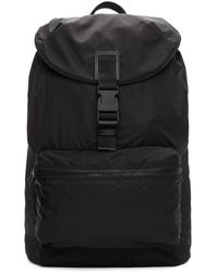 Givenchy - Black Nylon Stars And Tape Obsedia Backpack - Lyst