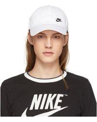 Nike - White H86 Futura Classic Swoosh Cap - Lyst