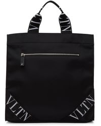 Valentino Garavani コレクション ブラック Vltn トート バッグ