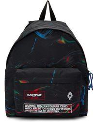 Marcelo Burlon Black Eastpak Edition Glitch County Padded Pakr Backpack