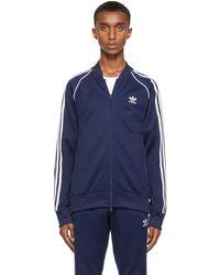 adidas Originals - ブルー プライムブルー Adicolor Classics Sst セーター - Lyst