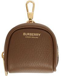 Burberry ブラウン Cube Bag チャーム キーチェーン