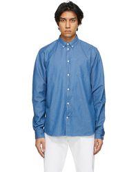 Norse Projects Blue Denim Anton Shirt