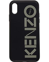 KENZO ブラック Glow-in-the-dark ロゴ Iphone X/xs ケース
