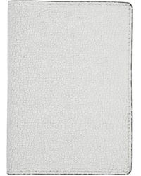 Common Projects White Cracked Folio Passport Holder
