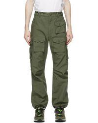 Engineered Garments グリーン カーゴ パンツ