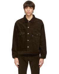 Levi's ブラウン オーバーサイズ ジャケット