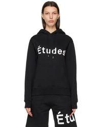 Etudes Studio - ブラック Klein ロゴ フーディ - Lyst