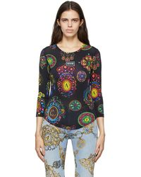 Versace Jeans Couture - マルチカラー Regalia Baroque プリント ロング スリーブ T シャツ - Lyst