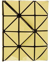 Bao Bao Issey Miyake Yellow Card Wallet