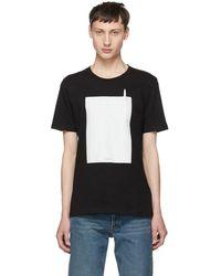 Maison Margiela - Black Leave A Message T-shirt - Lyst