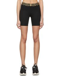 Versace Black Medusa Bike Shorts