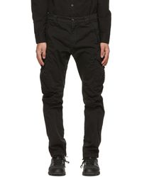 C.P. Company - ブラック Garment-dyed Utility カーゴ パンツ - Lyst