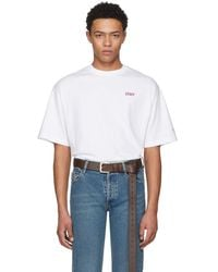 Vetements - White Staff Entry Level T-shirt - Lyst
