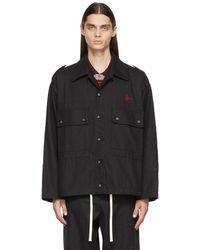 Vivienne Westwood ブラック Ben オーバーシャツ ジャケット