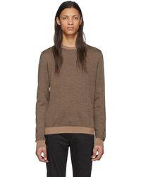 Fendi - ブラウン ウール Forever セーター - Lyst