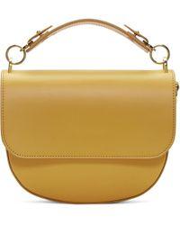 Sophie Hulme - Yellow Medium Bow Bag - Lyst