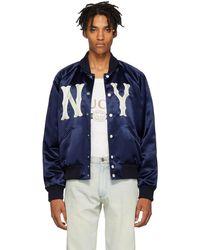 Gucci - Blue New York Yankees Edition Jacket - Lyst
