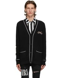 Amiri Black 'loving You' Cardigan